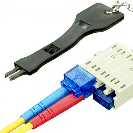 Duplex LC Security Cap & Boot - Duplex LC Security Cap & Boot