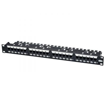 Category 6 - 1U 24-Port UTP Super Category 6 Modular Patch Panel