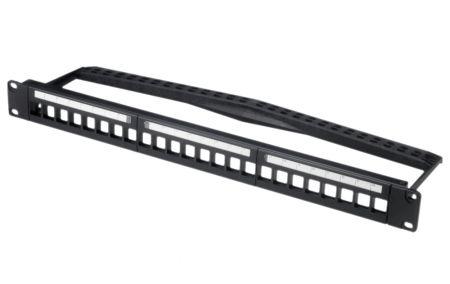 Snap-in - 1U 24-Port UTP Snap-In Type Multimedia Panel