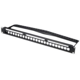Panel Multimedia Jenis Snap-In 1-UU 24-Port