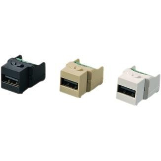 Screw Terminal Type 90° USB 2.0 Coupler