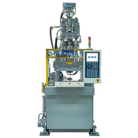 Vertical Toggle Hybrid Injection Molding Machine