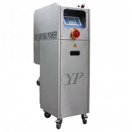 Microprocessor energy-efficient dehumidifying dryer - Microprocessor energy-efficient dehumidifying dryer for maintaining plastic drying.