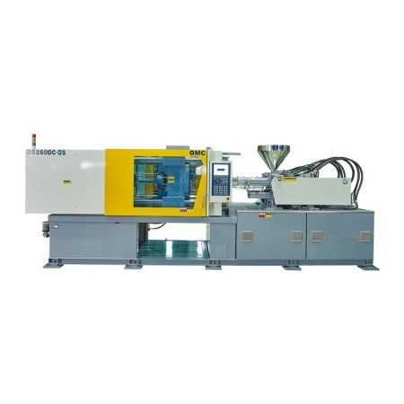 Dual Color Hybrid Injection Machine