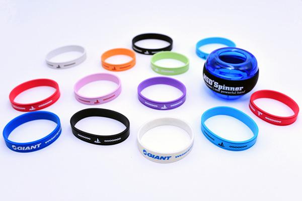 Customized Silicone Bracelet.