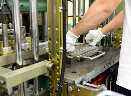 Serviço de moldagem por compressão de silicone - Moldagem de compressão de silicone