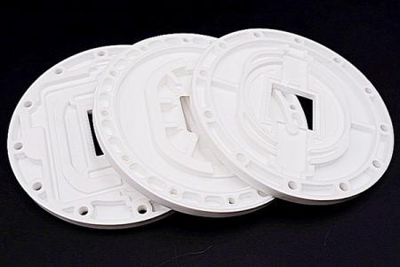 矽膠隔熱墊 - 此款應用於LED路燈之隔熱墊。