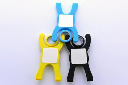 Customized Mobile silicone Holder.