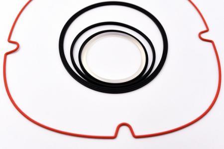 Silikonkautschukdichtung - Kundenspezifische Silikonkautschukdichtung, Tülle, Dichtung, Oring.