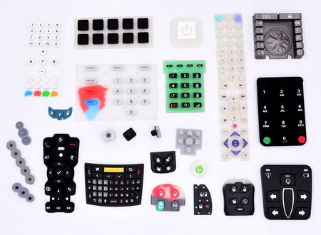 Silikontastatur - Keypad, Remote keypad, Credit Card Machine keypads, etc.