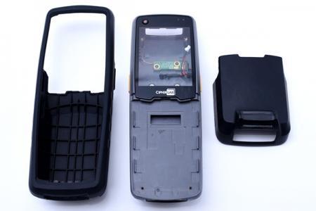 Maßgeschneiderte Silikon-Schutzhülle des 2D-Barcode-Scanners.