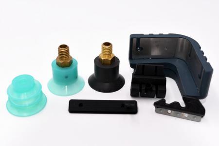 Silikonkautschuk kombiniert mit Metall - Silikonkautschuk kombiniert mit Metall.