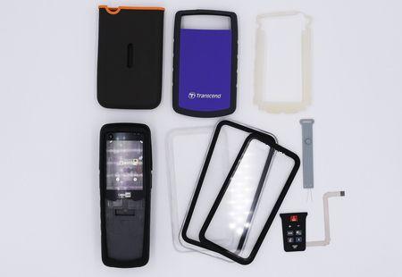 Silikon mit elektronischen Teilen - Silikon mit elektronischem Zubehör