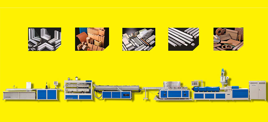 Profile Extrusion Line and Profile Application Photos
