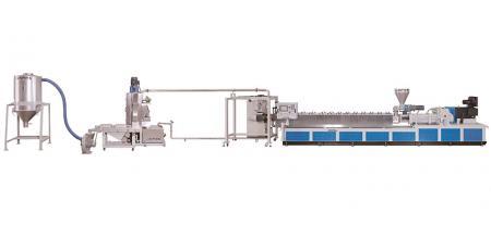 Экструзионное оборудование для непрерывного вспенивания гранул - Экструзионное оборудование для непрерывного вспенивания гранул