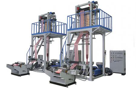 Depend by material, it has up forward type & down forward type machine model.