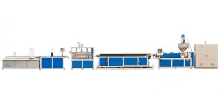 Одношнековая экструзионная линия для производства профилей - Одношнековая экструзионная линия для производства профилей