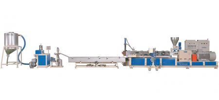 Strand Type Pelletizing Machine - Strand Type Pelletizing Extrusion