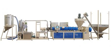 Under-Water Type Recycling Machine - Under-Water Type Pelletizing Extrusion