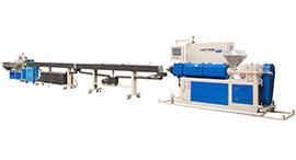 Высокоскоростная линия - линия для высокоскоростных медицинских труб из ПВХ / ТПУ / ПП / ПЭ