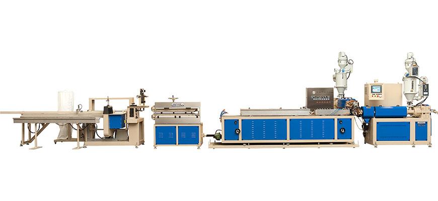 Twin Screw Profile Co-Extrusion Line