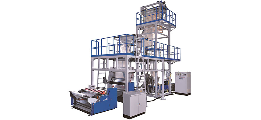Up Forward Type Blown Film Extrusion