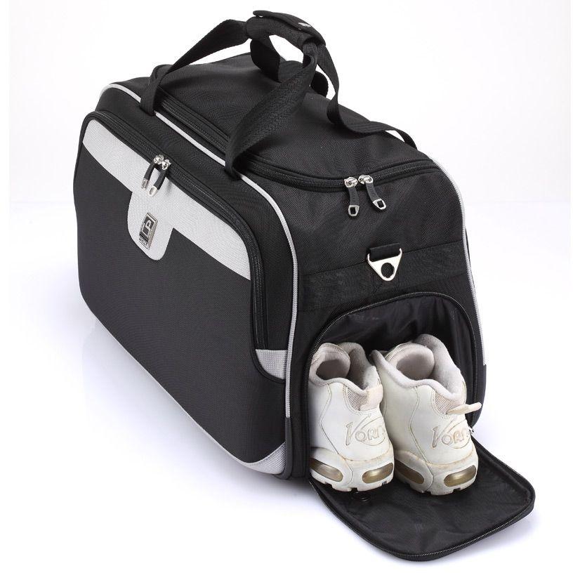 حقيبة سفر بجيب جانبي للأحذية