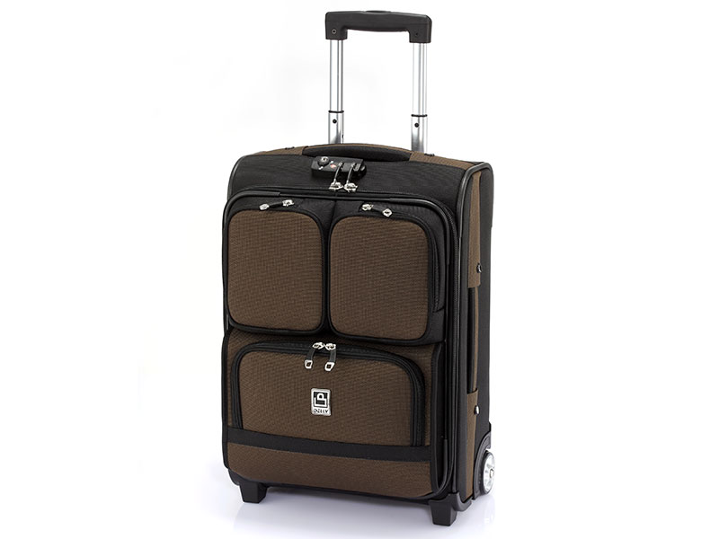 "20"" Multiple Outside Pockets Carry-On Baggage - Easy to store or take out goods."