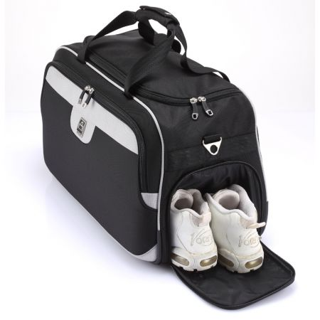 Travel Bag - Travel bag with side shoe pocket