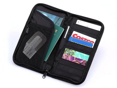 Passport Holder - Inside Pockets of Passport Holder