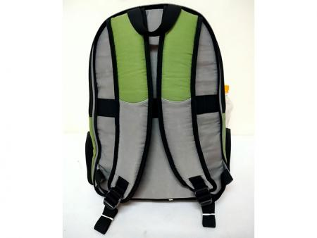 Removable small backpack's rear view.