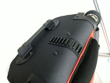 Bottom protective plastic pad.