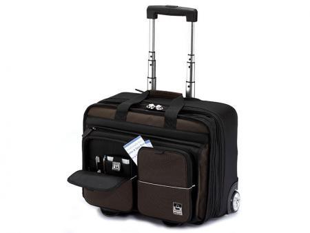 حقيبة كمبيوتر محمول للأعمال بعجلتين - حقائب العمل المحمولة.