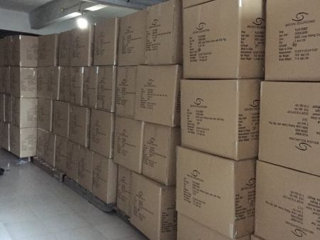 Warehouse for storing finished products