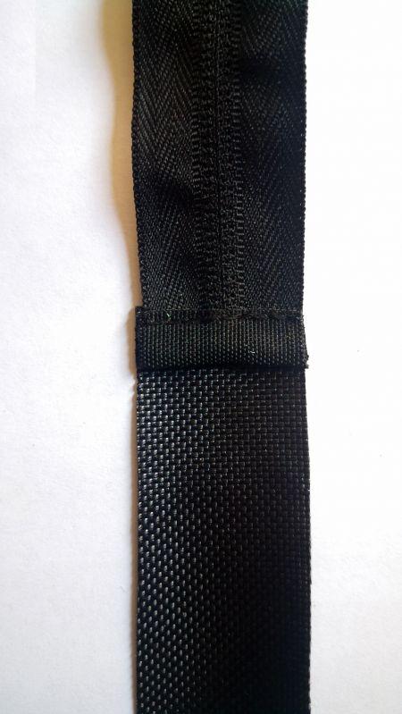 Nylon Zipper End Stitching Inside View