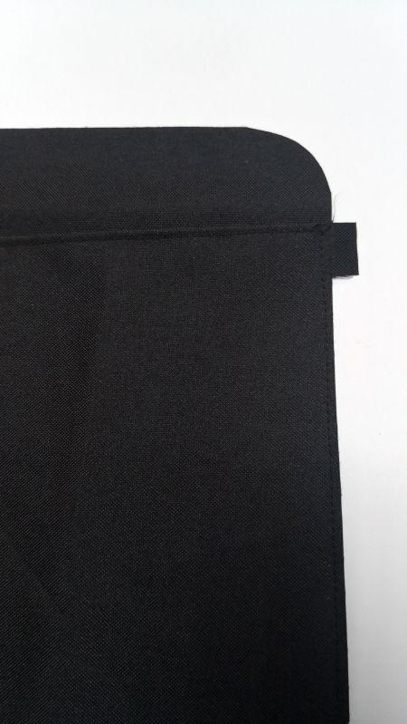 خياطة الجيب المسطحة مع طبقة التقوية