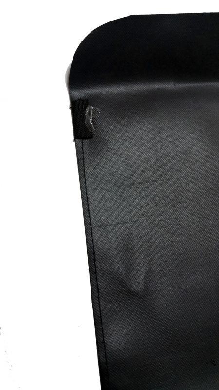 Fortalecimiento de la capa temporalmente asegurada con cinta