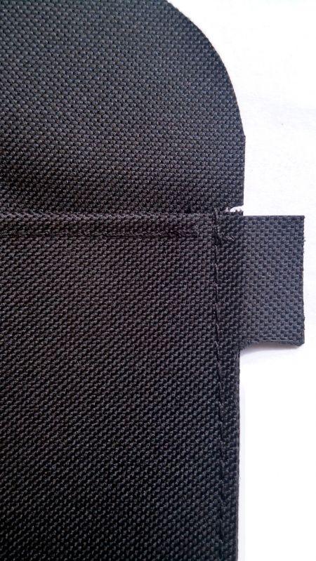 Costuras planas de bolsillo con capa de refuerzo ampliada