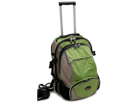 حقيبة ظهر بعجلات مزدوجة - مجموعة حقائب وحقيبة ظهر اثنين في واحد.