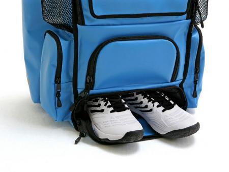 Shoe compartment.