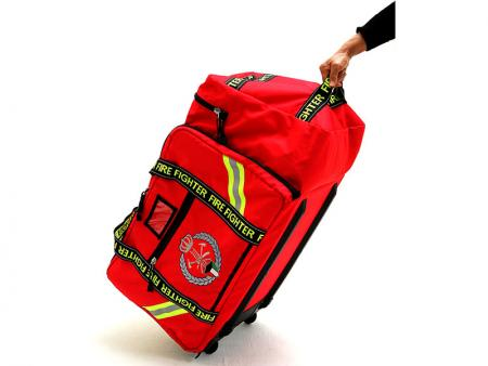 Fireman Equipment Bag on Wheels