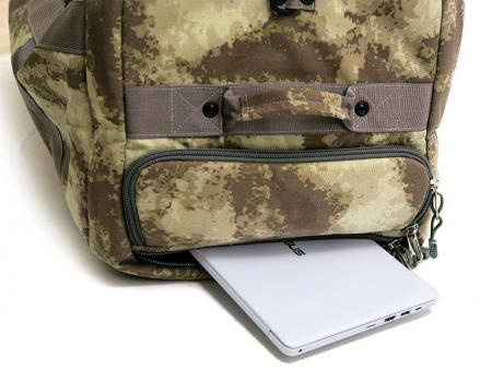 Laptop pocket.