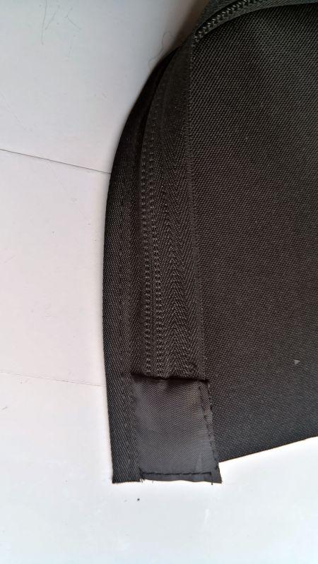 Nylon-Reißverschlussende mit Deckel
