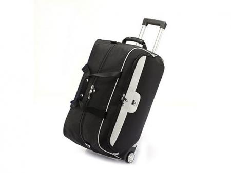 "24"" 2-Wheelled Foldable Travel Bag"