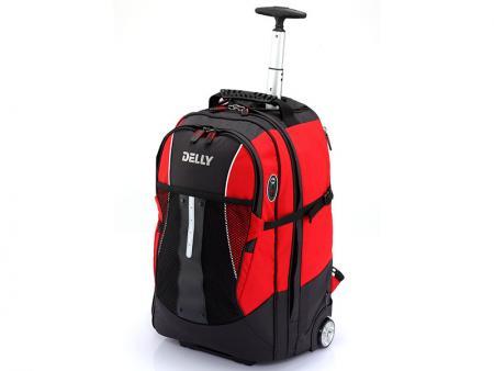 حقيبة ظهر للكمبيوتر المحمول بعجلات - حقيبة ظهر للكمبيوتر المحمول ذات عمود واحد.