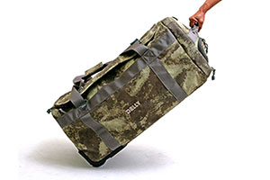 Rolling Bag with Removable Dividers