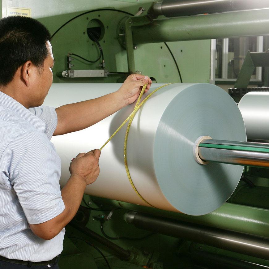 Foaie din PVC semirigid texturat - Role de foi din PVC semi-rigide colorate la comandă