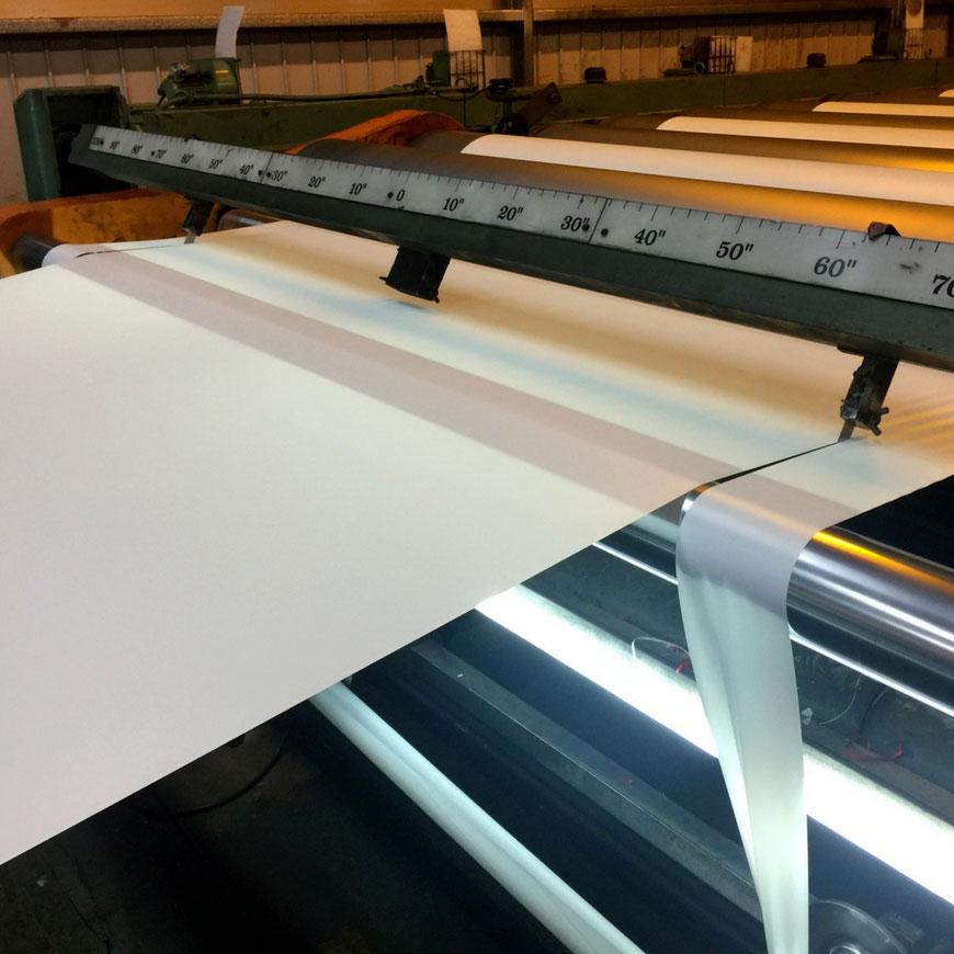 Foaie din PVC texturat translucid - Foaie din PVC semitransparent