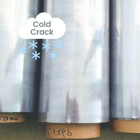 Cold Crack Resistent PVC Sheeting - Cold Crack Resistant Flexible PVC Sheet Rolls-