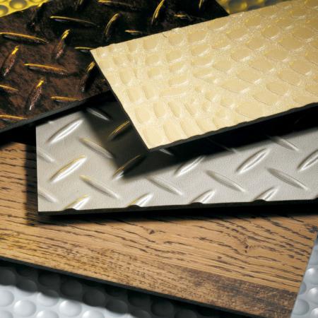 仿木紋塑膠地板-PVC膠布應用